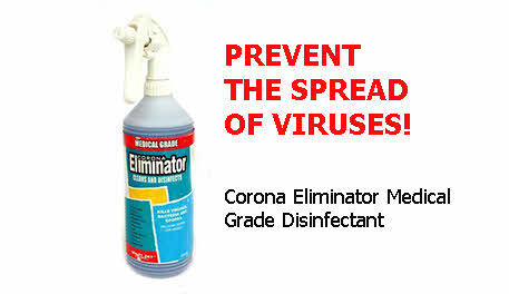 Corona Eliminator Medical Grade Disinfectant