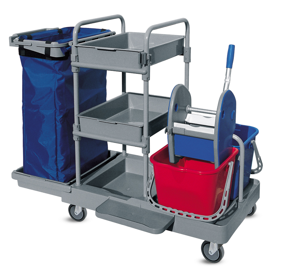 Janitor Pro is an aid to carrying large heavy loads in the workplace. It is  designed to make life easier and practical whether it is linen in a hotel  or ...