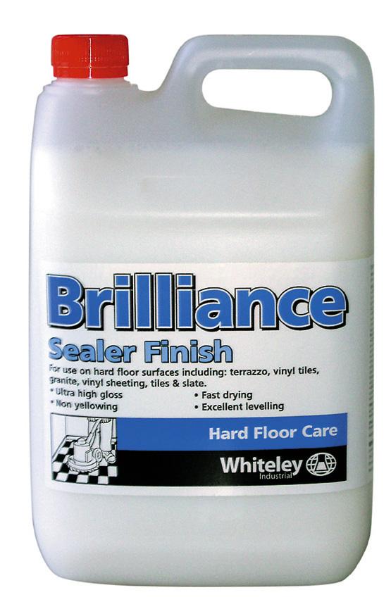 Brilliance sealer finish 5l wh20408 for Best vinyl floor sealer