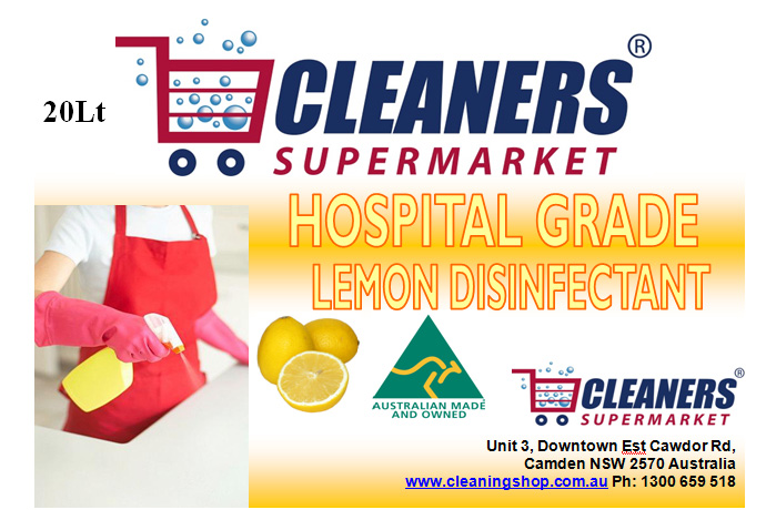 Cleaners Supermarket Hospital Grade Disinfectants