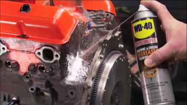 Automotive Degreasing Engine Wash