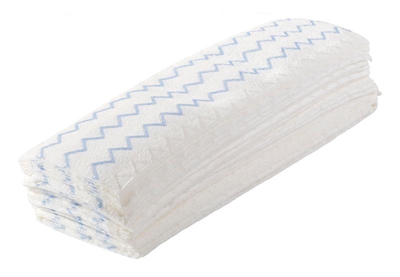 Rubbermaid Hygen Disposable Microfiber Mop 150 Pads