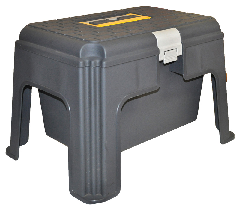 Step Stool With Storage Compartment