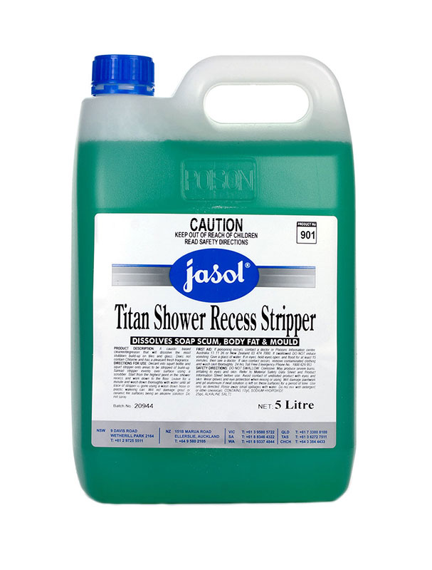 Jasol Titan Shower Recess Stripper Concentrated Cleaner Degreaser For Tiles Glass Ja2035260