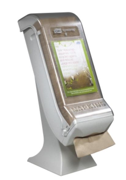 Tork Dispenser For Napkins Xpressnap Stand Clear Granite