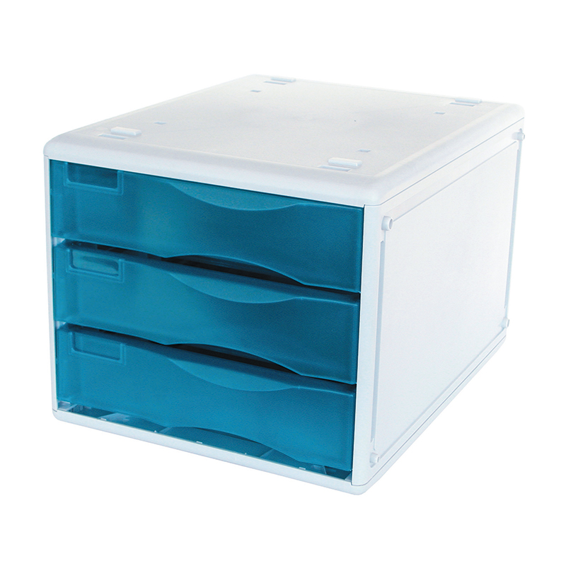 Metro 3438 Desktop Filing Mdss B4 3 Drawers