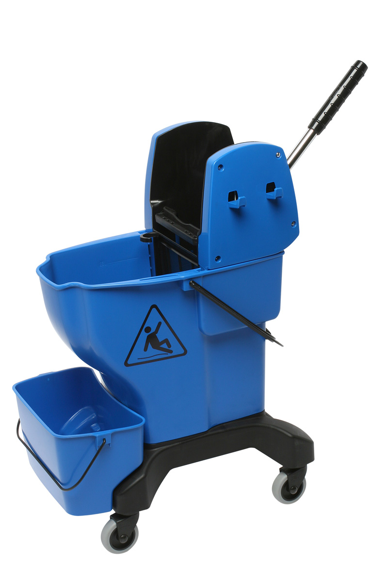 Large Mop Bucket With Handle Wringer