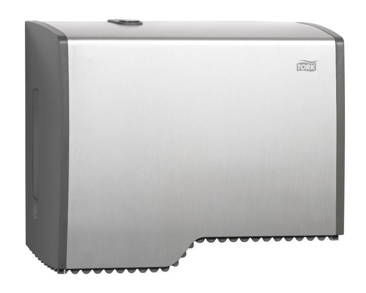 Tork dispenser toilet paper mini jumbo aluminium t2 jh455000 - Mini commode plastique ...