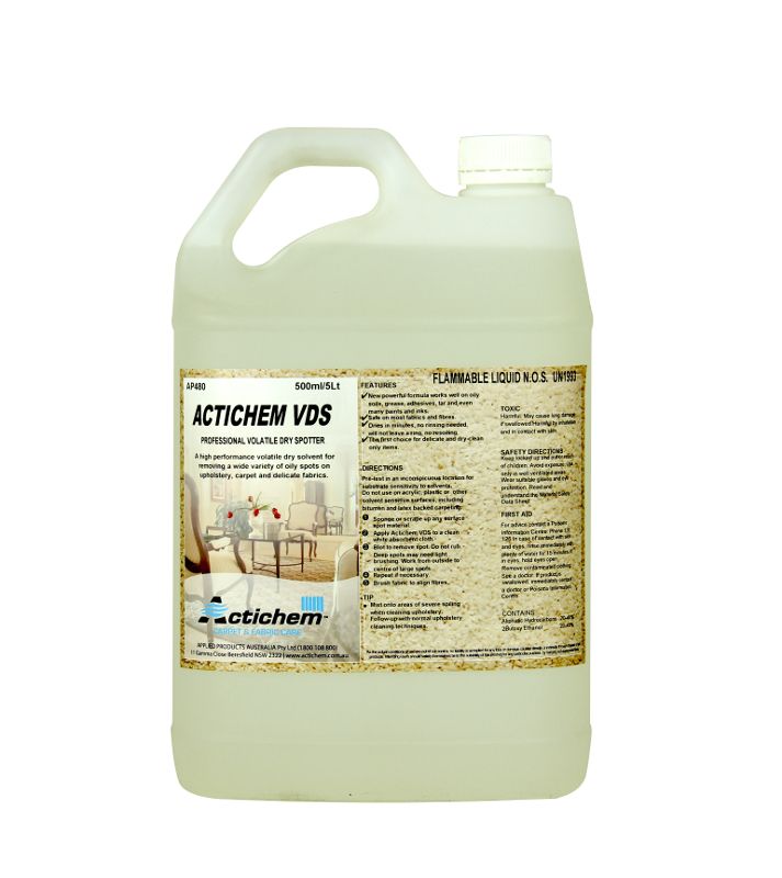 Dry Solvent Upholstery Cleaner