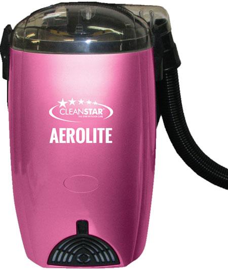 1400W Aerolite Backpack Vacuum Cleaner Pink