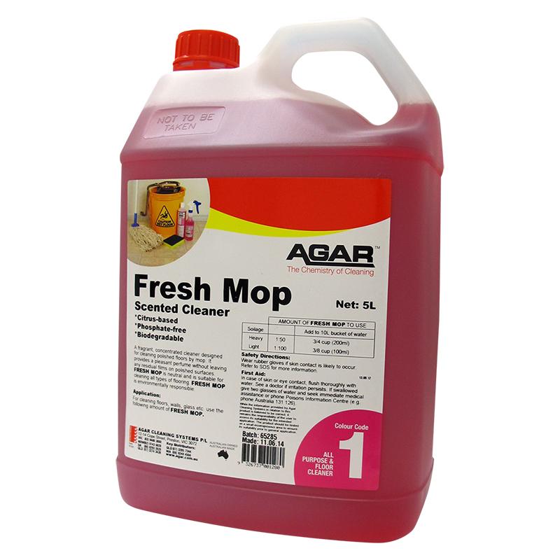 Agar Freshmop Lemon Scented Neutral Cleaner