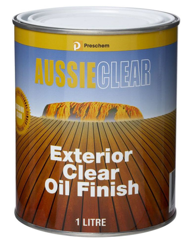 Aussie Clear Exterior Clear Oil Timber Finish