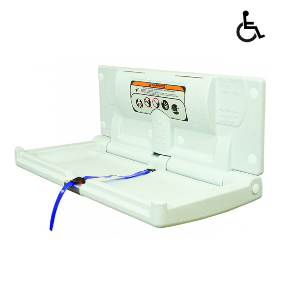 Classic Surface Mounted Parallel Baby Changing Station