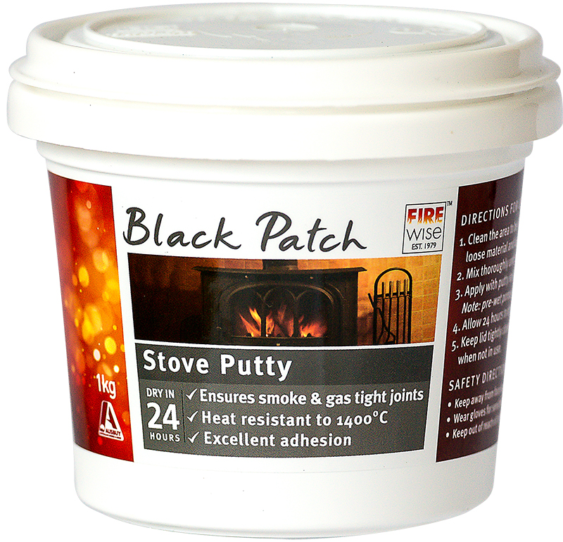 Black Patch Stove Putty Ready to Use
