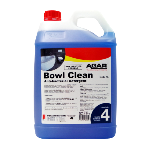 Agar Bowl Clean Antibacterial Toilet And Urinal Cleaner
