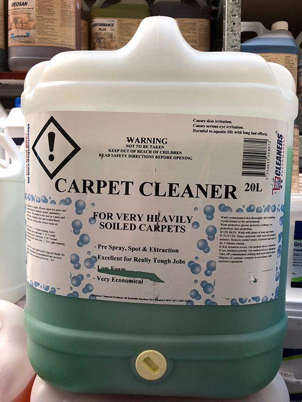 Cleaners Supermarket High ph Carpet Cleanaer