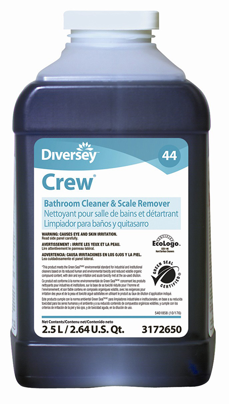 Crew bathroom cleaner and scale remover jf 2 5l jo3172650 for Best bathroom cleaner for hard water