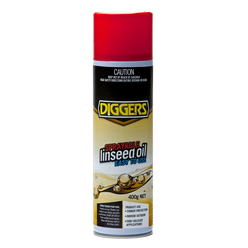 Diggers Sprayable Linseed Oil 400g