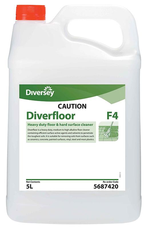 Diverfloor alkaline floor cleaner 5l jo5687420 for Alkaline concrete cleaner