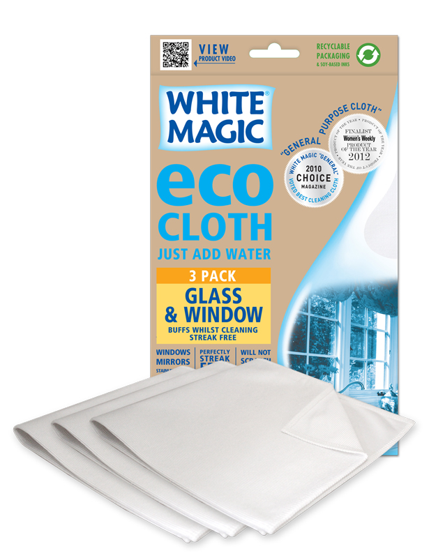 Microfibre Glass Cleaning Cloths