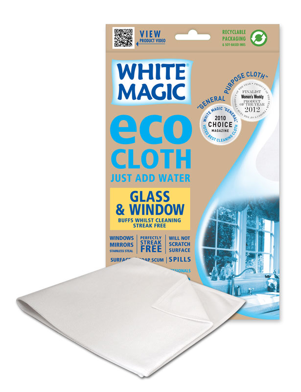 White magic microfibre eco glass and window cloth - Best cloth for cleaning windows ...