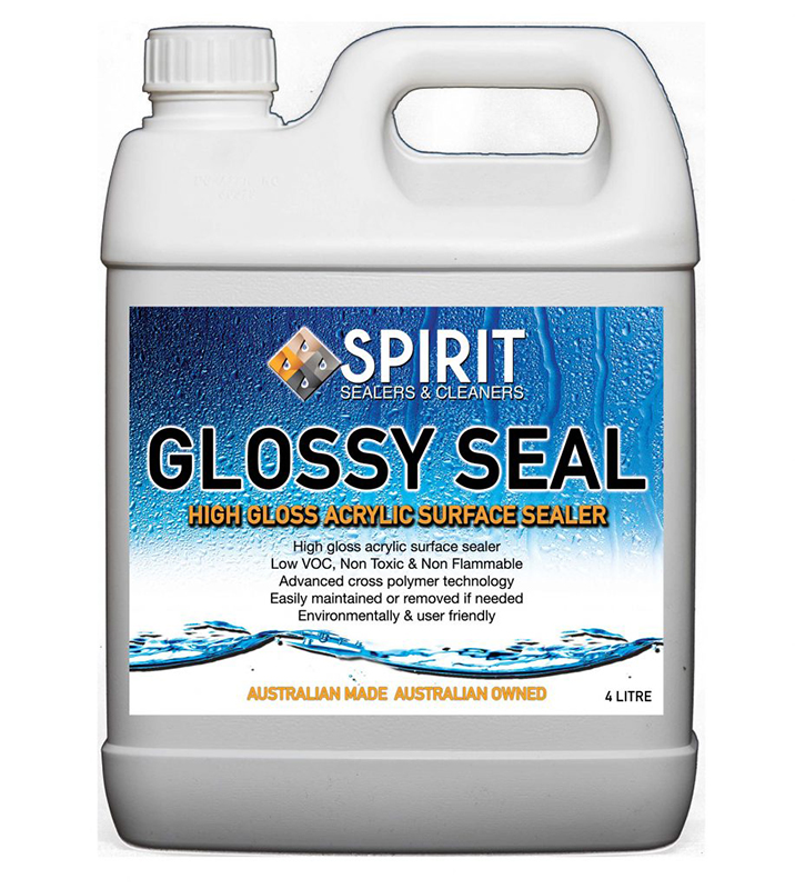 Spirit Glossy Seal High Gloss Acrylic Surface Cleaner