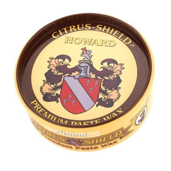 Howard Citrus Shield Premium Natural Paste Wax 312g