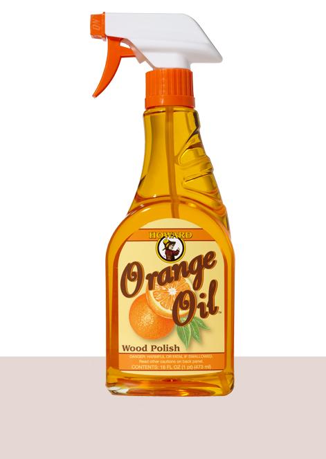 Howard Orange Oil Wood Furniture Polish And Cleaner
