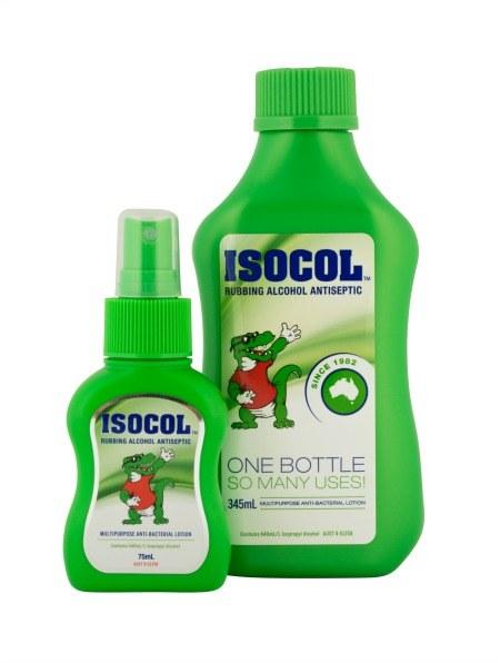Isocol Rubbing Alcohol Antiseptic Multi-purpose Anti-bacterial Lotion