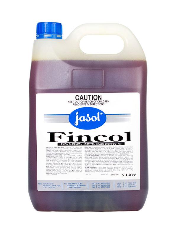 Jasol Fincol Lemon Cleaner And Hospital Grade Disinfectant