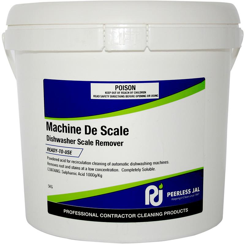 scale remover for machine