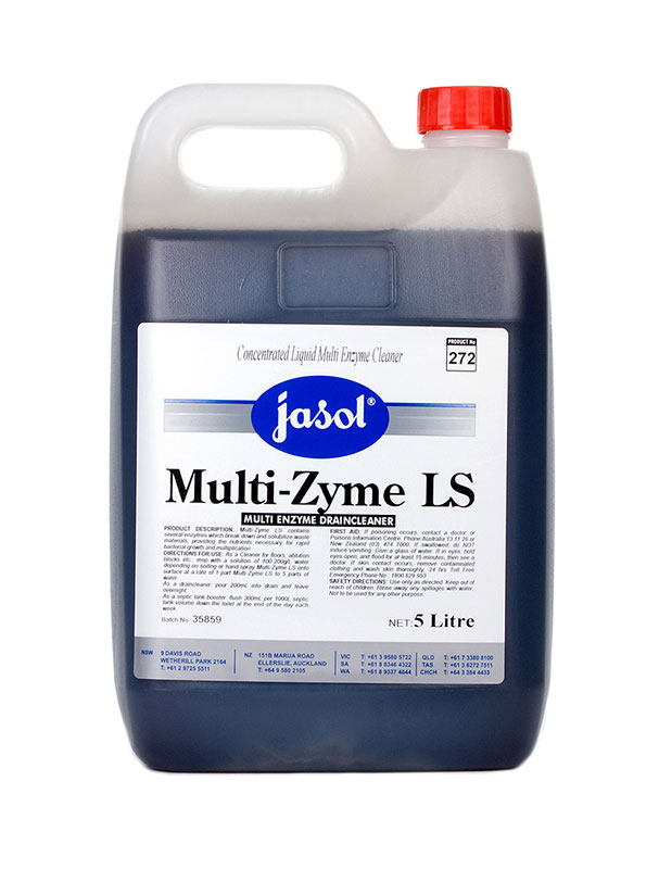 Jasol Multi Zyme Ls Multi Enzyme Drain Cleaner 5l Ja2993430