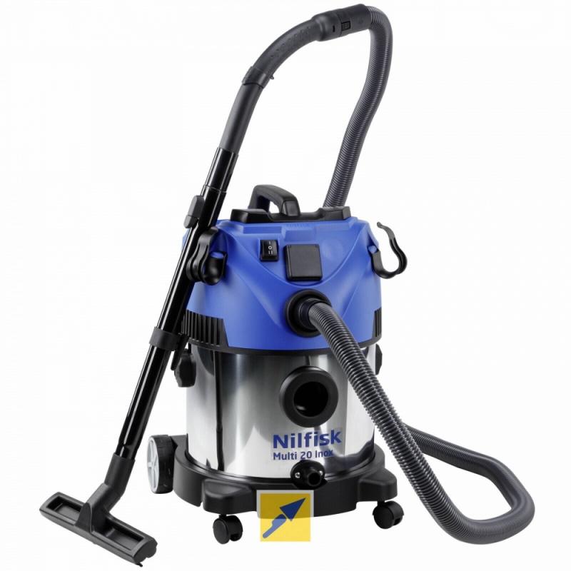 Nilfisk Alto Multi 20 Inox Wet And Dry Vacuum Cleaner