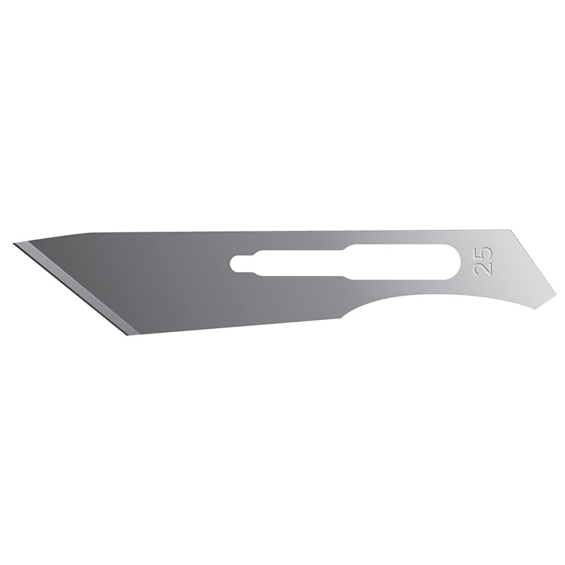Scalpel Blades–Sterile – No 25