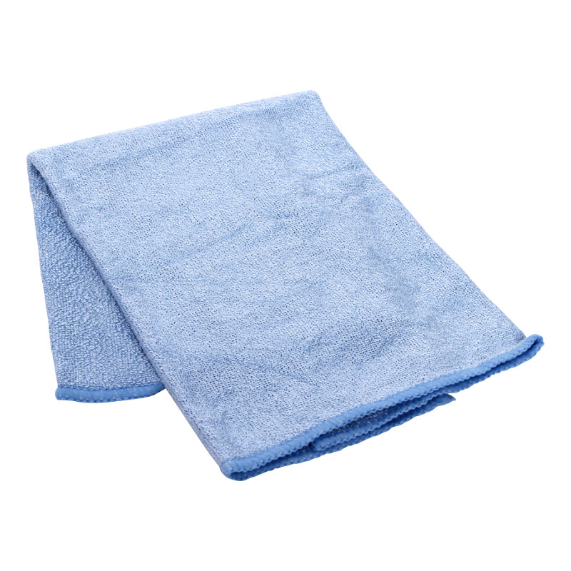 Glass cleaning with microfibre cloths for Glass cleaning towels