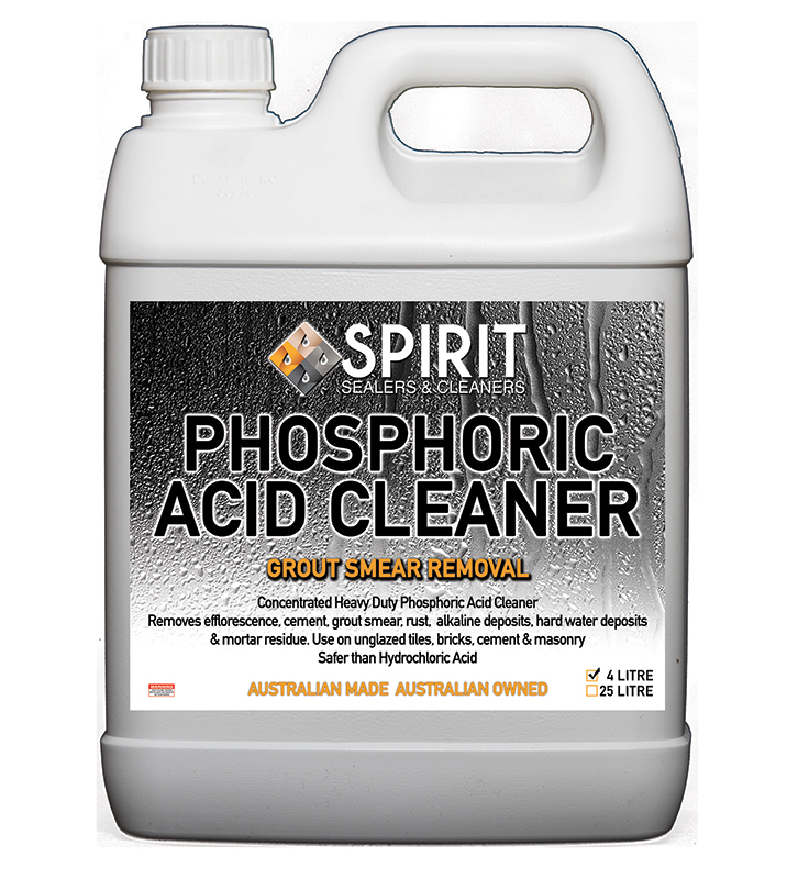 Spirit Phosphoric Acid Cleaner Grout Smear Removal