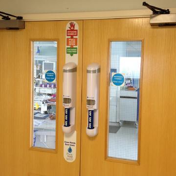 Purehold Hygienic Door Handles