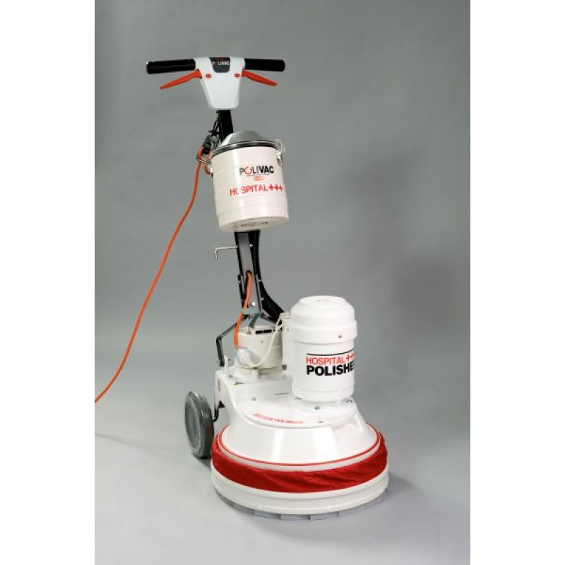 Pv25hc Polivac Hospital Cannister Suction Polisher Electric Floor