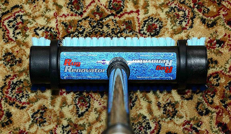 Rug Renovator 2 In 1 Floor Brush Carpet And Rug Brush