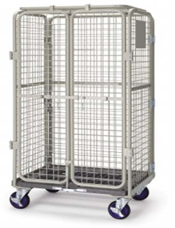 Security Cage Goods Storage Trolley