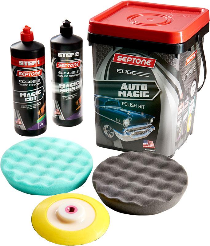 septone auto magic polish kit. Black Bedroom Furniture Sets. Home Design Ideas