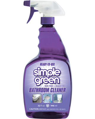 Simple Green Bathroom Cleaner Ready To Use Spray 946ml