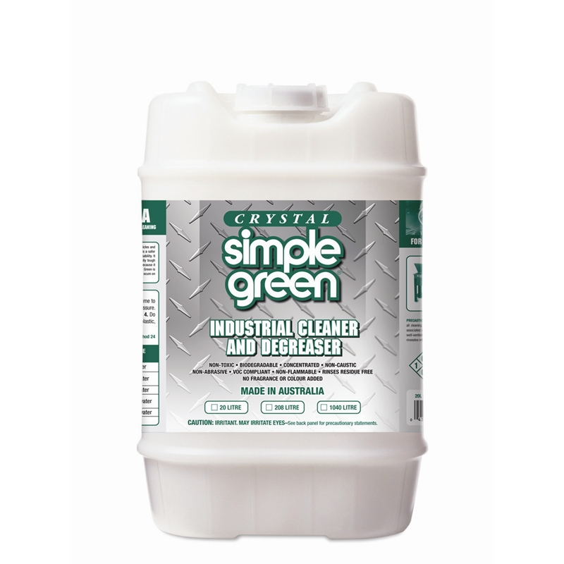 Simple Green Crystal Industrial Cleaner And Degreaser