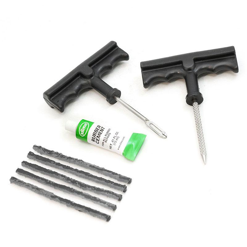 Slime 1034-A T-Handle Tire Plug Kit 8 Pc | AA1034-A