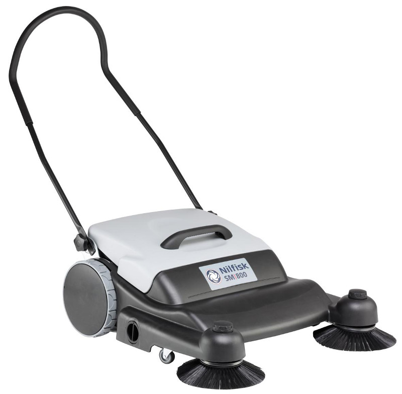 Nilfisk Sm800 Manual Walk Behind Push Sweeper