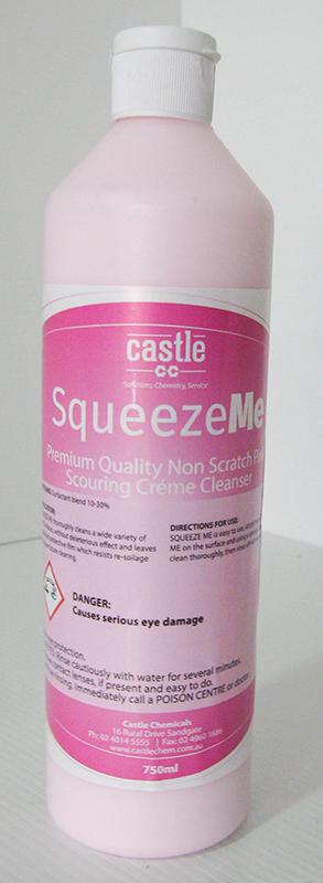 Castle Squeeze Me Premium Low Grit Creme Cleanser