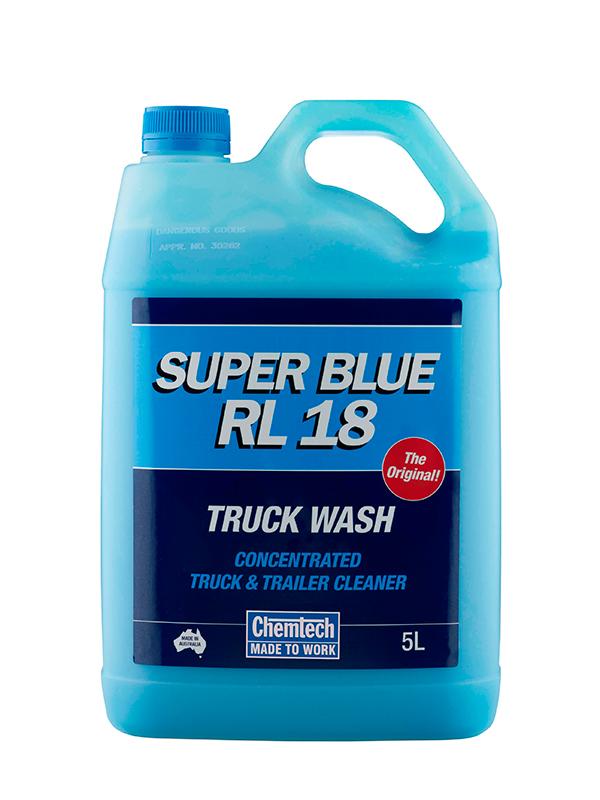 Chemtech Super Blue RL18 Truck Wash