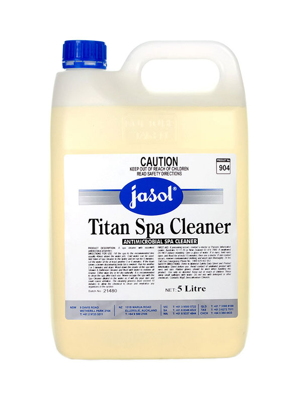 Jasol Titan Spa Cleaner 5l Antimicrobial Spa Cleaner Ja2044190