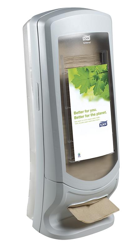 Tork Xpressnap Stand Napkin Dispenser Grey N4 Jh63340