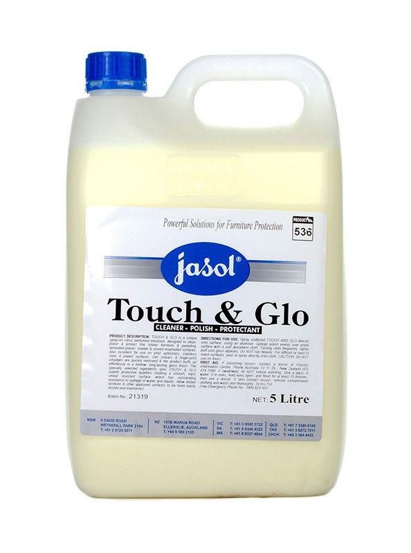 Jasol Touch And Glo Silicone Based Furniture Polish
